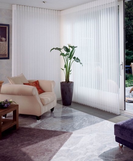 Luxaflex Luminette Sliding Door