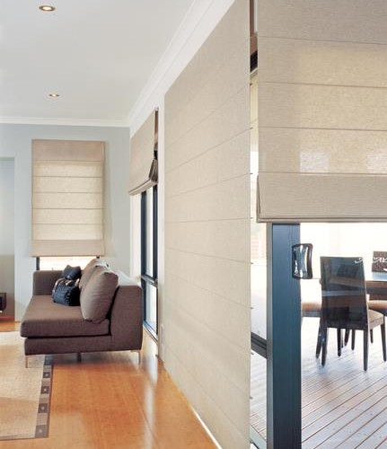 Luxaflex Beach Style Roman Blinds