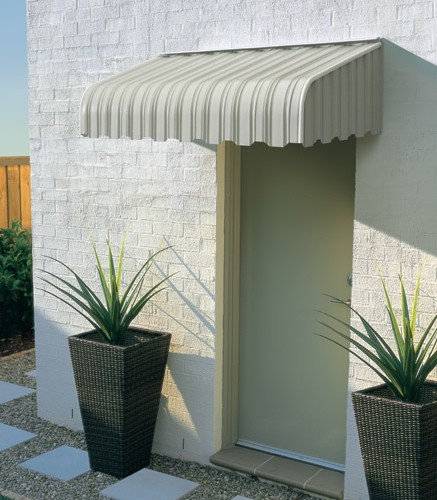 Luxaflex Carribbean style Fixed Metal Awning