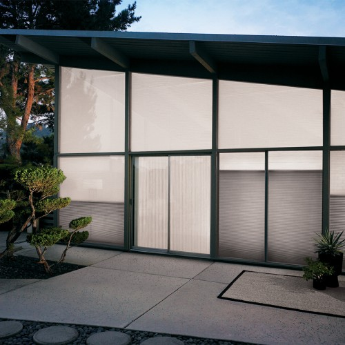 External View of the Luxaflex Duette Shades