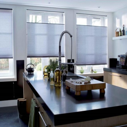 Luxaflex Duette Shades with Top Down/Bottom Up Operation